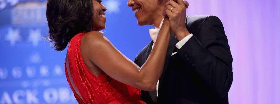Barack Obama y Michelle en San Valentín