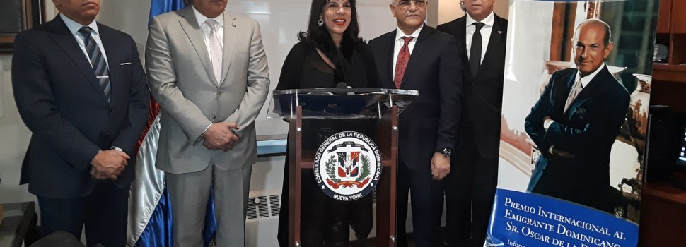 Anuncian premio internacional al inmigrante