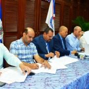 Coraasan y cabildos firman acuerdo