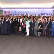 Juramentan directores Distritos Educación