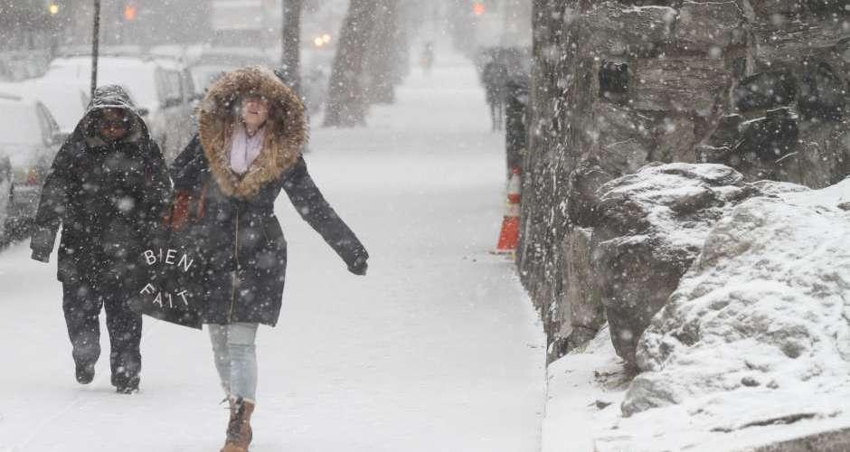 Tormenta nieve amenaza a Nueva York