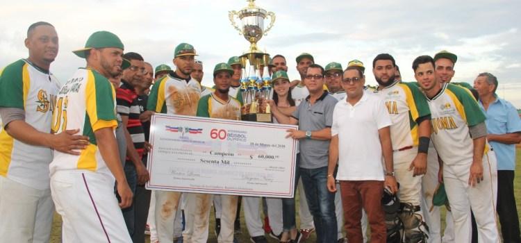 Sajoma gana torneo béisbol olímpico