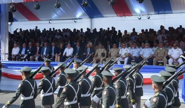 Medina presencia desfile Batalla Santiago