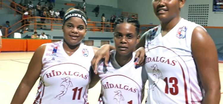 Santiagueras triunfan en basket