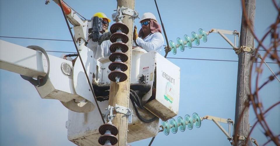 Anuncian mantenimiento a línea de transmisión