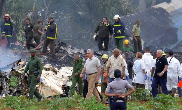 Más de 100 muertos accidente aviación