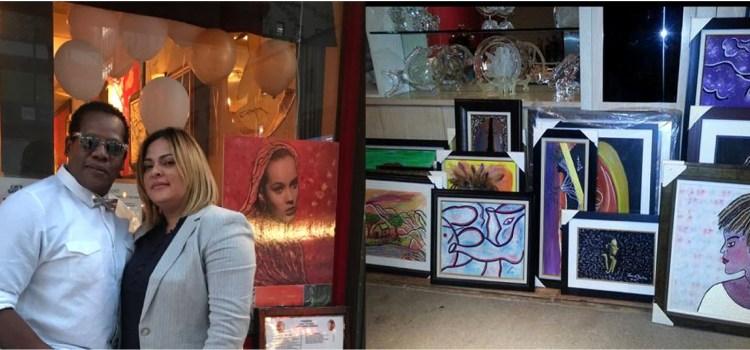 Pintor proyecta arte caribeño en exposición