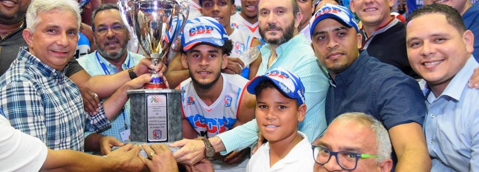 CDP retiene corona de baloncesto