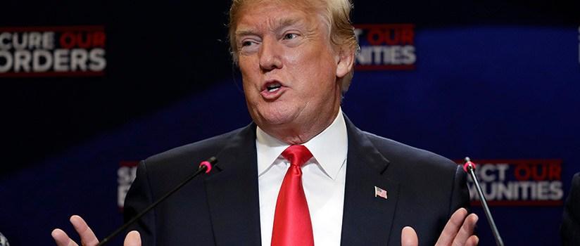 Trump responde a supuesta resistencia