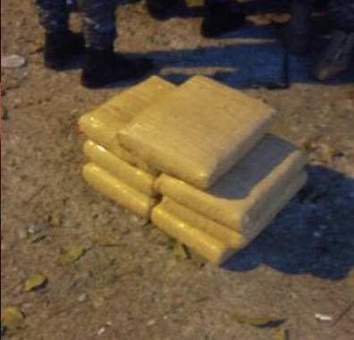 Confiscan siete paquetes marihuana