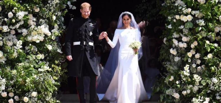 Contraen matrimonio Harry y Meghan