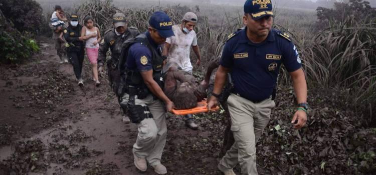 Erupción volcán causa tragedia Guatemala