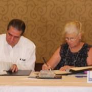 Turismo Asociación Cruceros firman acuerdo