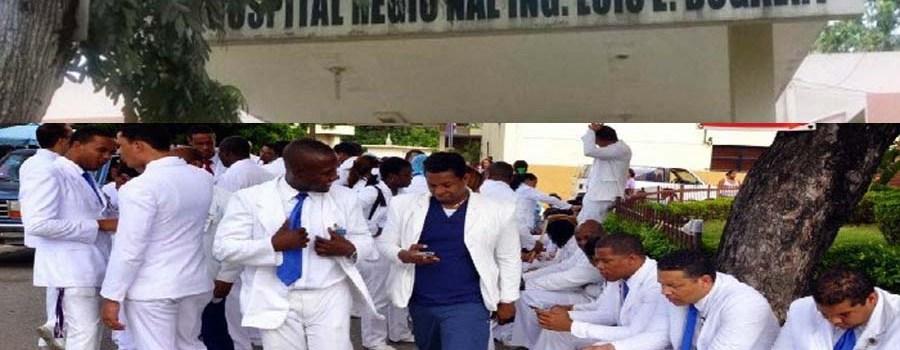 Paralizan labores centros hospitalarios