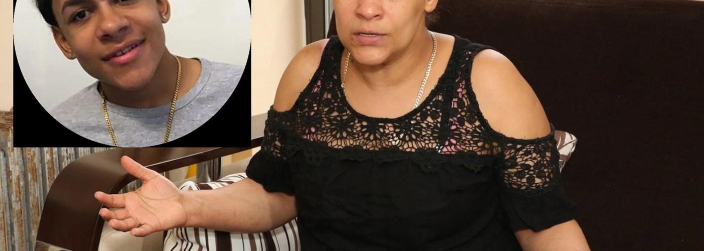 Madre de Junior Feliz gradece solidaridad