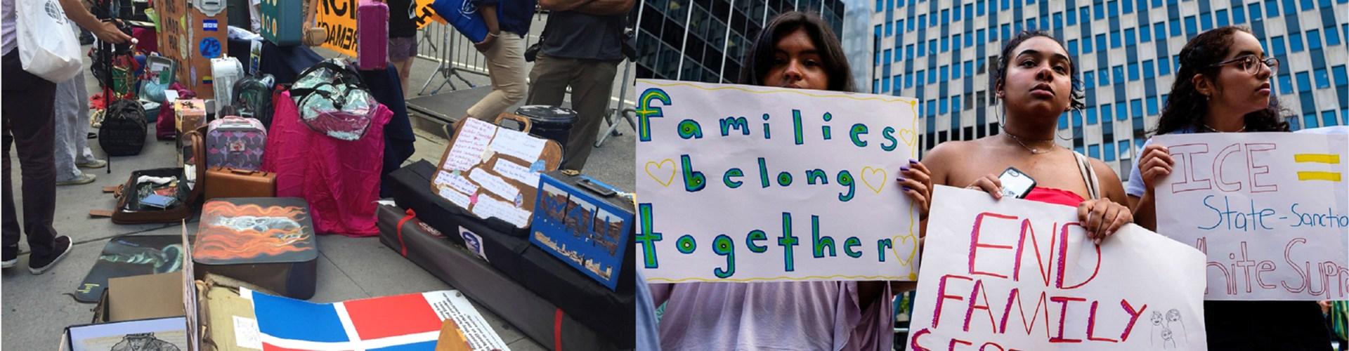 Protestan ante la posibilidad de deportación