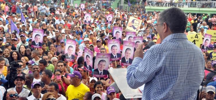 Amarante dice sector PLD enfrenta Gobierno