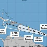 Meteorología alerta ante el huracán Beryl