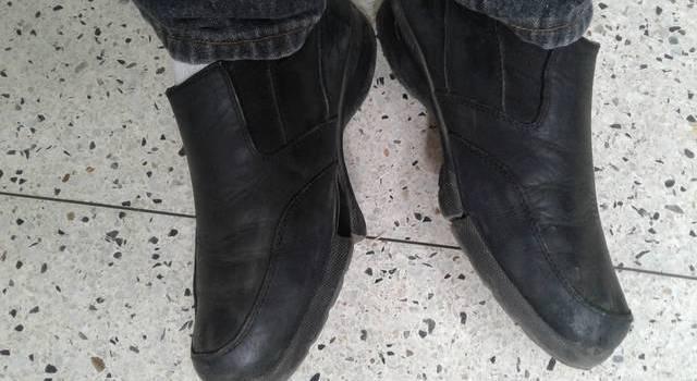 Zapatos muestran situación economía Venezuela