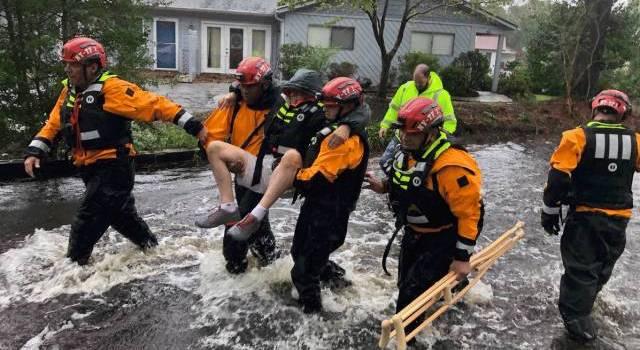 Varios muertos por el huracán Florence