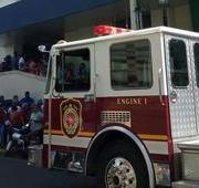 Ocurre incendio en clínica Corominas