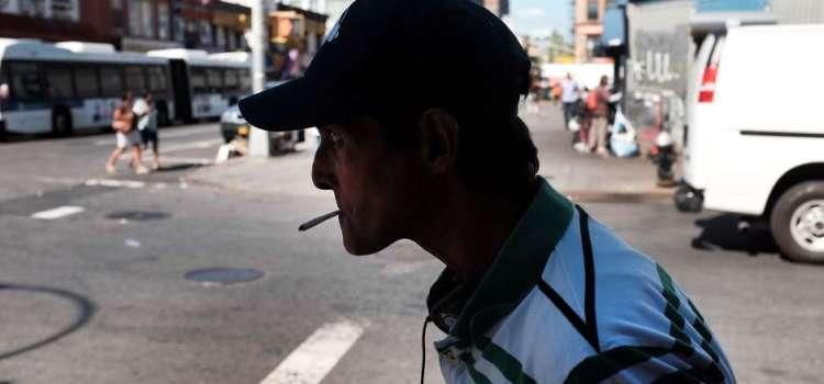 A la justicia y con multa los marihuaneros