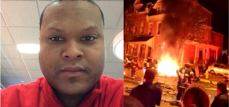 Dominicano grabó la explosión de vehículo