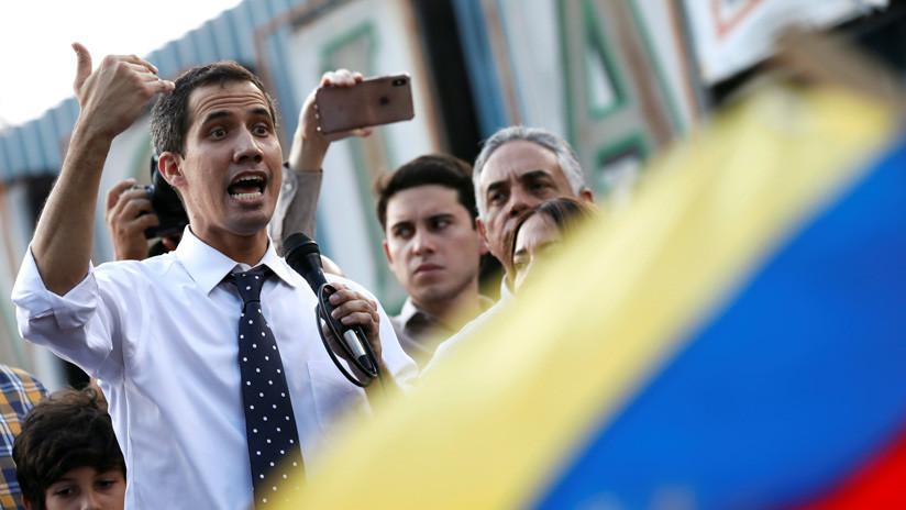 """Guaidó se declara """"presidente encargo"""" Venezuela"""