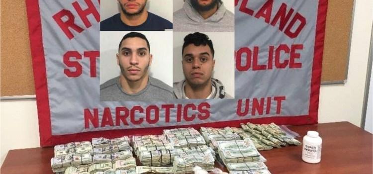 Involucran cuatro hermanos en tráfico drogas