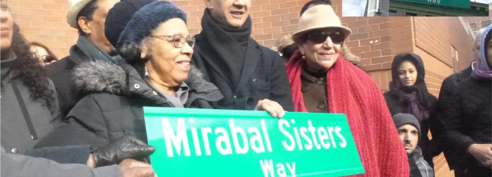 Parientes de las Mirabal ausentes en ceremonia