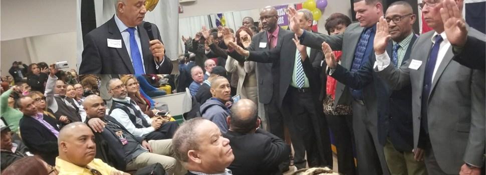 Juramentan equipo político apoya a Leonel