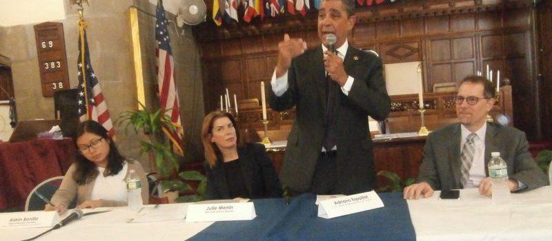 Espaillat pide a latinos llenar formulario censo