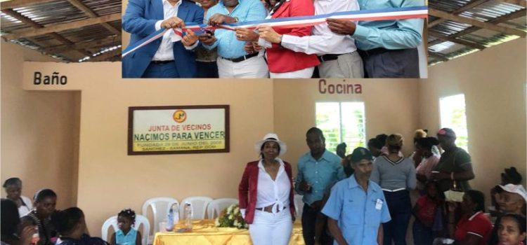 Donan local Junta Vecinos de Sánchez, Semaná