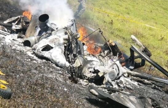 Varios muertos por caída de un helicóptero