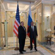 Pompeo y Lavrov tras avances EE.UU. y Rusia