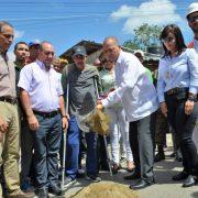 Inician construcción recolección aguas residuales