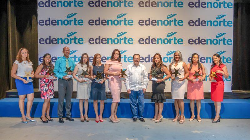 Edenorte reconoce empleados y oficinas comerciales