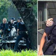 Fallecen policía y acompañante en accidente