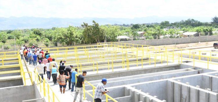 Coraasan muestra avance planta de agua potable