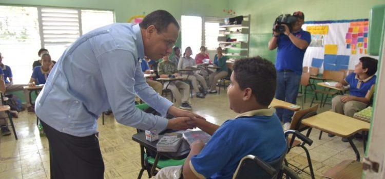 Ministro Educación encabeza cierre semana de simulacros