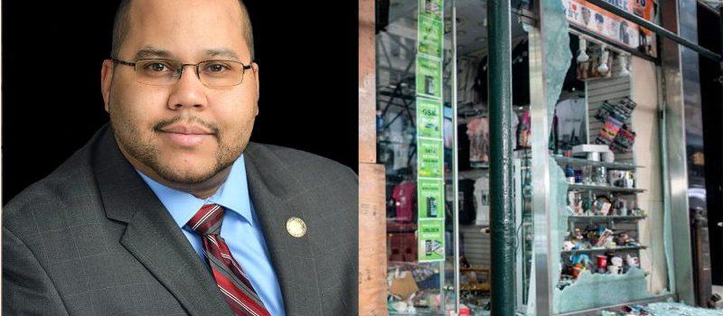 En NY más de 50 negocios saqueados el martes