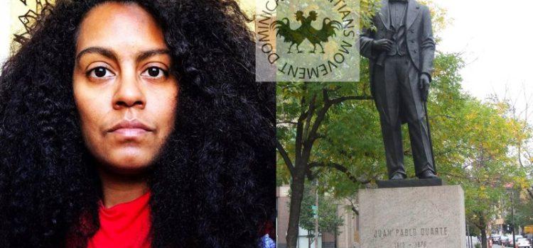 Aseguran pretenden tumbar estatua de Duarte