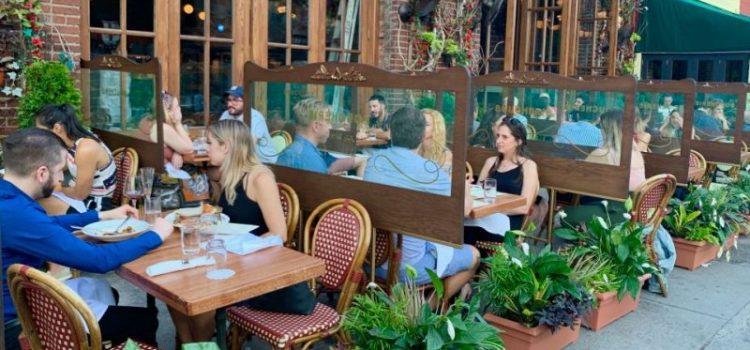 Piensan frenar reapertura de restaurantes por rebrote virus