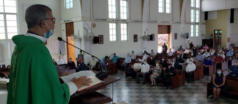 Padre dice Antonio Guzmán gobernó sin avasallar