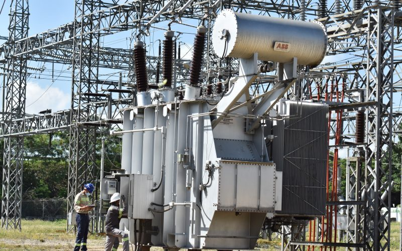 Falla transformador potencia subestación Canabacoa