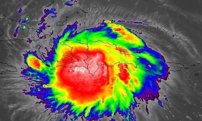 La tormenta Laura abandona RD y está sobre Haití