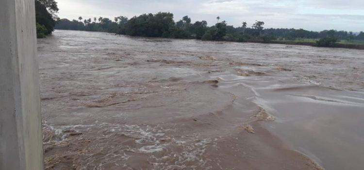 Desborde río Yuna provoca aislamiento de dos parajes