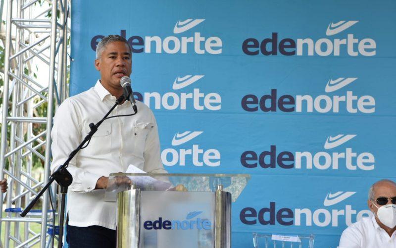 Edenorte electrifica comunidades de Dajabón