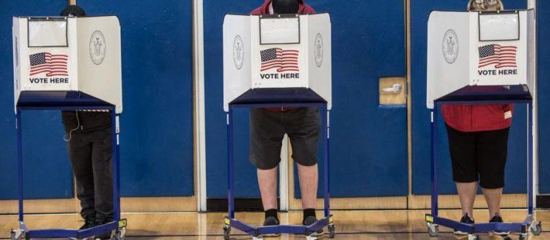 Elecciones normales en la ciudad de NY