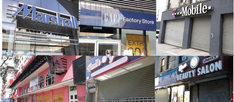 COVID-19 provoca cierre de negocios en Alto Manhattan